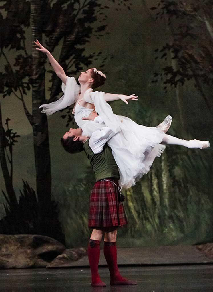 Bolshoi Ballet • Live in Cinemas • La Sylphide - Time and